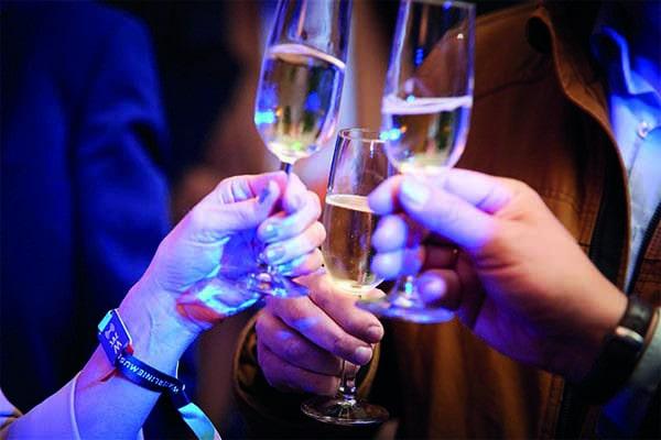 Champagne feesten Fort Vechten