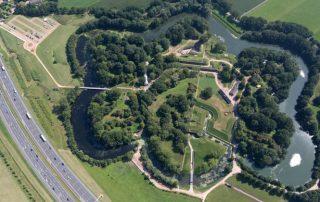 Luchtfoto Fort bij Vechten