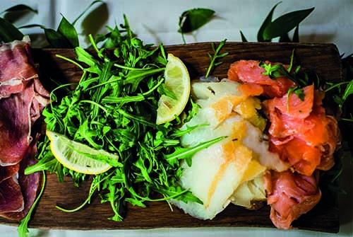 Eten plank Fort bij Vechten