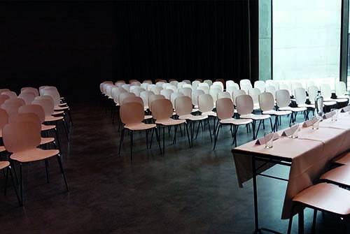 Auditorium voor receptie Fort Vechten