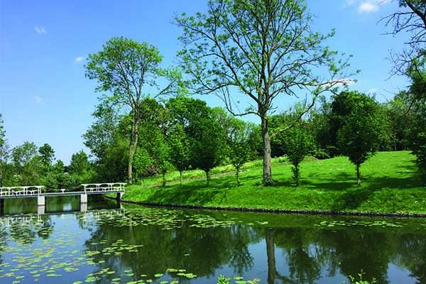 Natuurgebied water Fort bij Vechten
