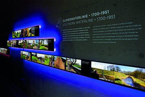 Waterliniemuseum binnen