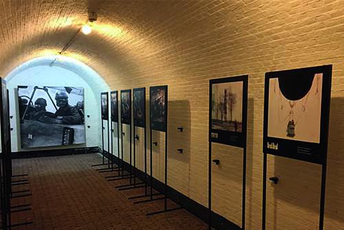 Waterlinie museum binnen Fort bij Vechten