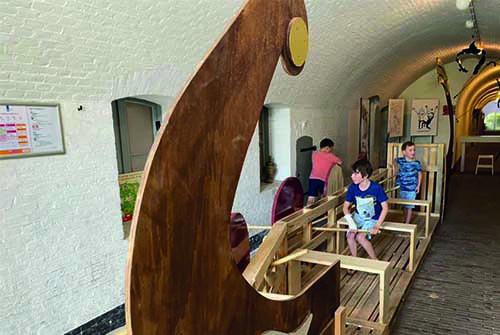 Waterlinie museum kinderen Fort bij Vechten
